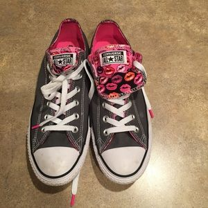 Women's Converse size 10 worn once